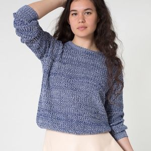 American Apparel Sweaters - American Apparel Fisherman Pullover Knit Sweater